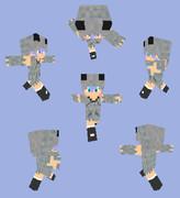 【Minecraft】シルバーフィッシュパーカー