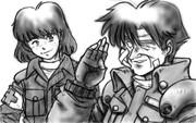 智郎と衛生兵