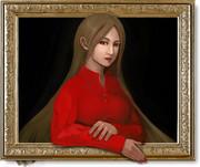 『赤い服の女』