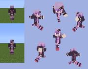 【Minecraft】結月ゆかり:フード脱ぎver.【ボカロ】