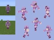 【Minecraft】結月ゆかり:パーカー無しver.【ボカロ】