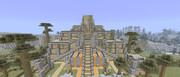 【Minecraft】べたーだんじょんにてお城発見!w