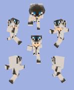 【Minecraft】シャムネコパーカー