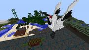 minecraft作品 鶴と亀