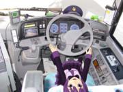 日野・セレガR KL-RU4FSEA 運転席