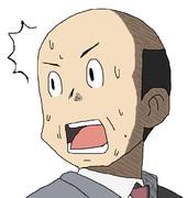 校長の目元を高崎先生にしてやった