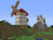 【minecraft】風車村【Ugocraft使用】