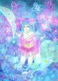 紫陽花の中身