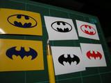 バットマンをロゴマーク カッティングシートで切ってみた