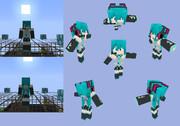 【Minecraft】初音ミク【ボカロ】