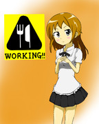 WORKING!!猫組終了と聞いて