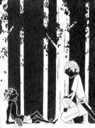 「プリデイン物語Ⅰ タランと角の王」のワンシーン(挿絵風)