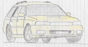 LEGACY touring wagon GT-Bモシャモシャ②
