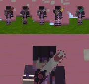 【Minecraft 】サヨナラチェーンソーセット【テクスチャ】