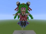 【Minecraft】ゆっくりぱいろんキャラをみんなつくりたい~桃鈴~