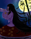 月のお姫様