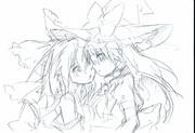 れいまり+例大祭お知らせ(ゝω・)v-☆