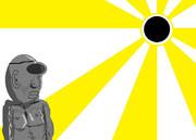 金環日食先輩