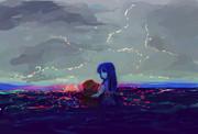 インクの海