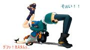 【MMD】ニコ技キャラ達の日常 No.001【空ニア】