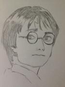 Harry Potter描いてみた