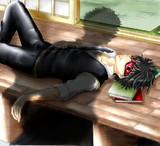 『・・・鬼の副長さんが気持ちよさそうに寝ちまってぇ』