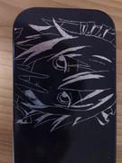 メイド地味子 ペンケースに彫ってみた