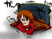 『結構疲れるの!!』