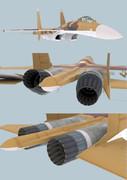 Su-37(製作途中)