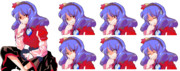 神奈子さま立ち絵 表情差分