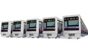【MMD】海岸高速鉄道3900形電車(初音鉄道3900形改変モデル)配布