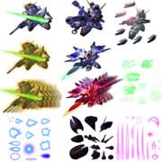 SDガンダムGジェネレーションワールド ユニット画像素材