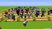 【Minecraft 】自作スキン全員集合!!!【前方】