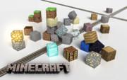 MinecraftのPC壁紙を暇だから作ってみた(Simple)