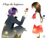 2つの薔薇