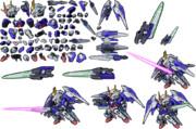 第2次スーパーロボット大戦Z 再世篇 ダブルオーライザー(最終決戦仕様) ユニット画像素材