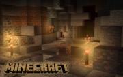 MinecraftのPC壁紙を暇だから作ってみた(Cave)