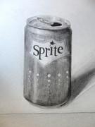 缶 デッサン
