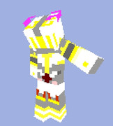 【Minecraft】エメ子スキン頑張った(1)【MHF】
