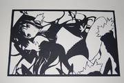 【切り絵】黒雪姫2【アクセル・ワールド】