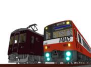 MMD京急2100形を電車でD風に改造