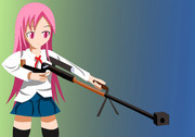 狙撃手 モモさん
