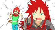 アッシュとルーク ドラゴンバスターver  (おまけ)