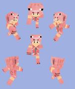 【Minecraft】ピッグパーカー