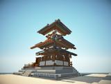 【MineCraft】法隆寺を再現したい-番外編-