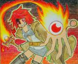 燃え盛る闘志、炎の力をリリース!