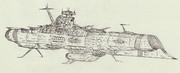 宇宙戦艦ティルピッツ「自作艦」