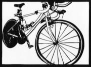 【切り絵】自転車