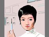 アンヌ隊員(メディカルセンター内)