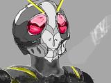 仮面ライダーセミブラック